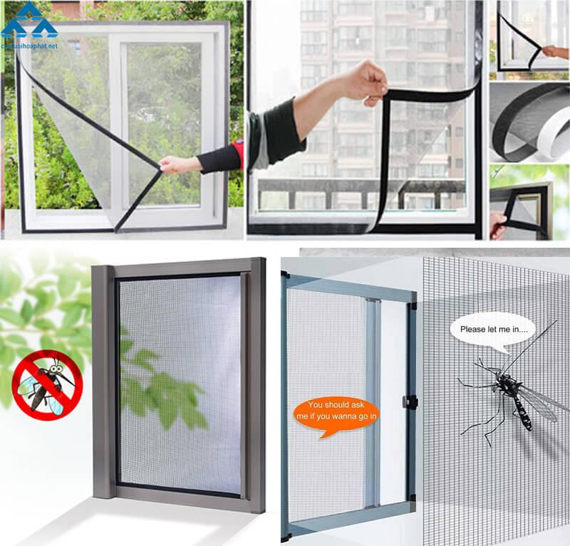 Tính năng vượt trội của cửa lưới chống muỗi cao cấp Hòa Phát